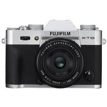 富士 X-T10(XF27) 银色 APS-C 去低通滤镜 WIFI操控 翻折显示屏 XT10轻旗舰产品图片主图