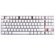 E元素 冥想剑圣/V5 87键金属面板游戏机械键盘 青轴 无背光版 土豪金