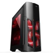 爱国者 分体式魔兽3机箱黑色(分体式/宽体水冷/大侧透/USB3.0/HD音频)