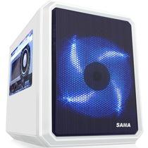 先马 米立方(白) 小板专用迷你游戏电脑机箱U3双SSD背线大侧透平置结构支持高塔CPU散热器双显卡产品图片主图