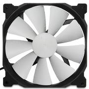 追风者 PH-F140XP_BK 14CM电脑机箱 散热器风扇 PWM智能温控高风压 大风量 低噪音 黑框白叶