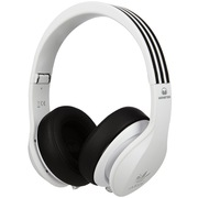魔声 阿迪达斯Adidas 三叶草系列 头戴式包耳机音乐运动耳机 线控带麦 白色