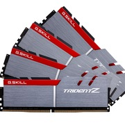 芝奇  Trident Z系列 DDR4 3400 32GB(8GB×4条) 台式机内存(F4-3400C16Q-32GTZ) 银黑混色