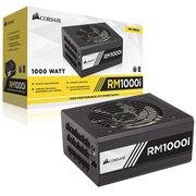 海盗船 美商(US)额定1000W RMi系列 RM1000i 电脑电源(80PLUS金认证/全模组/135mm静音风扇)