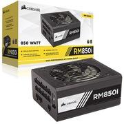 海盗船 美商(US)额定850W RMi系列 RM850i 电脑电源(80PLUS金认证/全模组/135mm静音风扇)
