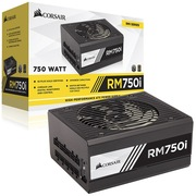 海盗船 美商(US)额定750W RMi系列 RM750i 电脑电源(80PLUS金认证/全模组/135mm静音风扇)