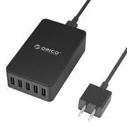 ORICO CSE-5U 多接口usb充电器头 2.4A平板手机充电器插头iphone6 黑色