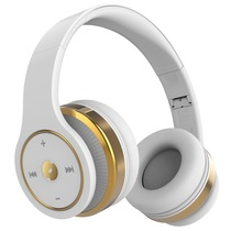击音 智能设备触控式 头戴蓝牙耳机/敲敲社交耳机 无线HIFI 敲击感应 云朵白产品图片主图