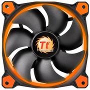 Thermaltake Riing 12厘米LED橙色风扇(液压轴承/强化减震系统/独特静音技术/降噪控制线/LED导光圈)