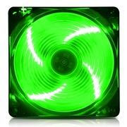 爱国者 黑暗骑士X7天使之翼风扇绿色(LED绿光/12CM游戏机箱风扇)