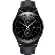 三星 GALAXY GEAR S2 Classic BSM-R732 黛墨黑 防尘IP68防水 四重定位智能手表男女 蓝牙wifi手表