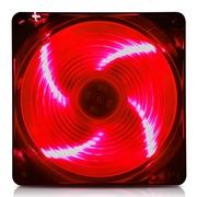 爱国者 黑暗骑士X7天使之翼风扇红色(LED红光/12CM游戏机箱风扇)