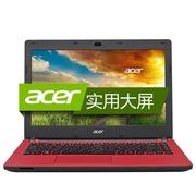 宏碁 ES1-431-C586 14英寸笔记本(四核N3150 4G 500G 核芯显卡 蓝牙 Win10)红色