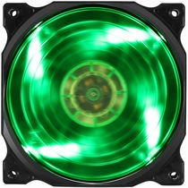 鑫谷 炫风XF-12-G风扇(绿色LED灯/12cm静音/大风量机箱风扇)产品图片主图