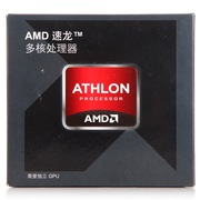 AMD Athlon X4(速龙四核)870K盒装CPU (Socket FM2+/3.9GHz/Max 4.1GHz/4M/95W)
