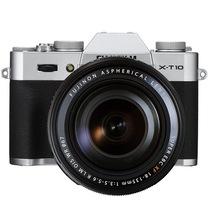 富士 X-T10(XF18-135) 银色 APS-C 去低通滤镜 WIFI操控 翻折显示屏 XT10轻旗舰产品图片主图