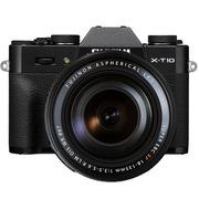 富士 X-T10(XF18-135) 黑色 APS-C 去低通滤镜 WIFI操控 翻折显示屏 XT10轻旗舰
