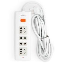 得力 3800 新国标4位总控电源插座/插排/插线板/拖线板  2.8米产品图片主图