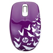 惠普  F7M62AA Z3600紫色蝴蝶无线鼠标