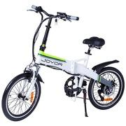 九悦 Z1 白色电动折叠自行车变速电动车锂电池助力电动车电瓶车电动平衡车