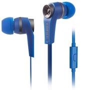 漫步者  H275P 手机耳机 时尚入耳式耳机 可通话 低频出众 深空蓝