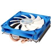 乔思伯 HP-200 INTEL平台超薄下吹CPU散热器 2热管 9CM静音风扇