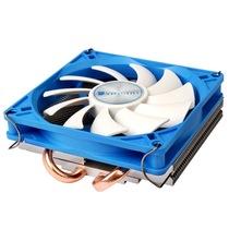 乔思伯 HP-200 INTEL平台超薄下吹CPU散热器 2热管 9CM静音风扇产品图片主图