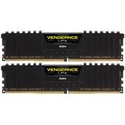 海盗船  复仇者LPX DDR4 2400 32GB(16Gx2条) 台式机内存 (CMK32GX4M2A2400C14)