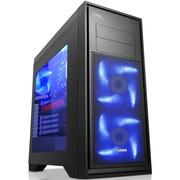 先马 泰坦豪华版 230mm宽游戏电脑机箱(双U3/背线/支持长显卡/水冷/电源下置)