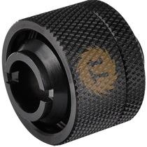 "Thermaltake 软管水冷直出转接头(黑色/适用4T水管/内径:1/2""/外径:3/4"")产品图片主图"
