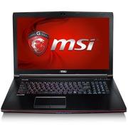 微星 GE72 6QD-001XCN 17.3英寸游戏笔记本电脑 (i7-6700HQ 8G 1T GTX960M GDDR5 2G 多彩背光) 黑色