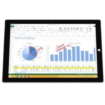微软 Surface Pro 3 中国版 12英寸平板电脑(i3/64G/2160×1440/Win10/银色)产品图片主图
