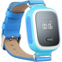 纽曼 嗨嗨兔K2蓝色 儿童电话手表智能穿戴手环 关爱小天才360度防护通话手表 GPS定位防丢追踪器产品图片主图