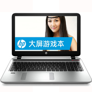 惠普 ENVY 15-k301TU 15.6英寸笔记本(i7-4750HQ/8G/500G/GTX850M/Win8/灰银)