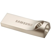 三星 Bar 32GB USB3.0 U盘 读130M/s 金属银产品图片主图