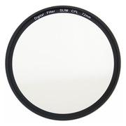 天气不错 72mmCPL偏振/偏光镜滤镜 适合佳能70D7D等18-200 851.2镜头尼康D750 24-85等镜头