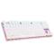 达尔优 机械师2代点彩版 87键背光机械键盘 青轴 玫瑰金产品图片3