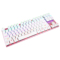 达尔优 机械师2代点彩版 87键背光机械键盘 青轴 玫瑰金产品图片4