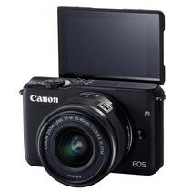 佳能 EOS M10 微型单电套机 黑色(EF-M 15-45mm f/3.5-6.3 IS STM)产品图片主图
