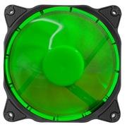乔思伯 Eclipse日食-炫光绿 12CM 11叶LED发光机箱风扇 (3Pin to 4Pin)