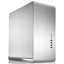 乔思伯 UMX4 全铝ATX机箱 银色 标准版(双侧铝侧板)产品图片主图