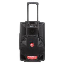 万利达 J12 M+9020 专业户外移动音箱 黑色产品图片主图