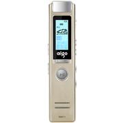 爱国者 R6611录音笔专业微型 高清远距降噪 MP3播放器 学习/会议适用 8G 香槟金色
