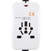 英特曼 ACAC18 转换插头插座转换器无USB韩国美国英标德标欧标
