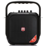 万利达 C5M+9002 户外广场舞晨练插卡便携电瓶蓝牙拉杆音箱 黑色