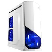 撒哈拉 战舰X3 白色 台式电脑主机游戏机箱(0.7加厚板材/支持ATX大板/支持120水冷)