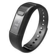 埃微  I5S系列智能手环 蓝牙4.0 智能计步 健康管理 来电显示 经典黑