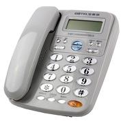 宝泰尔 电话机座机固定电话办公电话免电池来电显示T121灰色