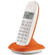 摩托罗拉 C1001XC 数字无绳电话机无线办公单机 有绳的价格无绳的自由享受(橙色)
