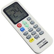视贝 A699L空调遥控器带照明象牙白产品图片主图